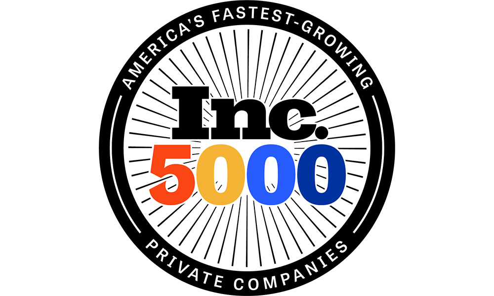 Inc 5000 list logo, America's fastest growing private companies
