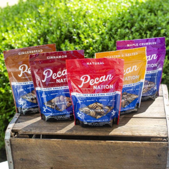 Pecan Nation - variety of bag flavors